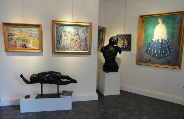 La impronta de Matisse en la galería Fahlnaes de Gotemburgo. Marzo 2015. Foto R.Puig
