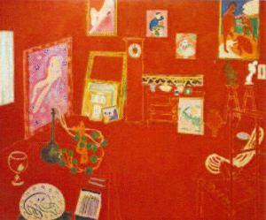 L'atelier rouge. Henri Matisse. 1911. MoMa. NY