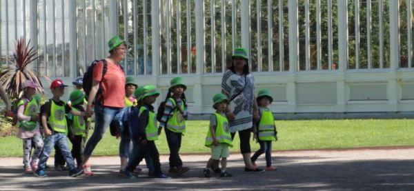 El día de los gorros verdes. Foto R.Puig