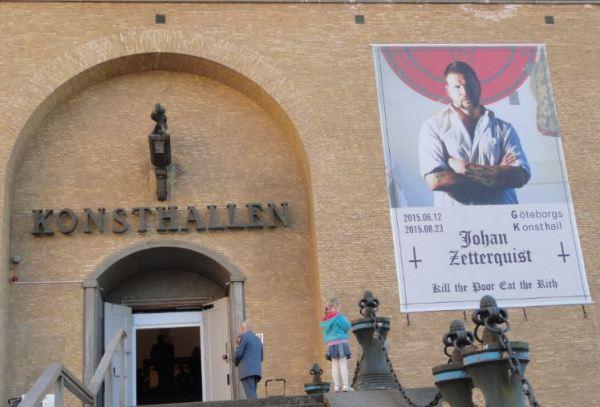 Exposicion de Johan Zetterquist. Konsthallen de Gotemburgo. Foto R.Puig