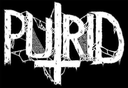 Logo de Putrid dead metal band