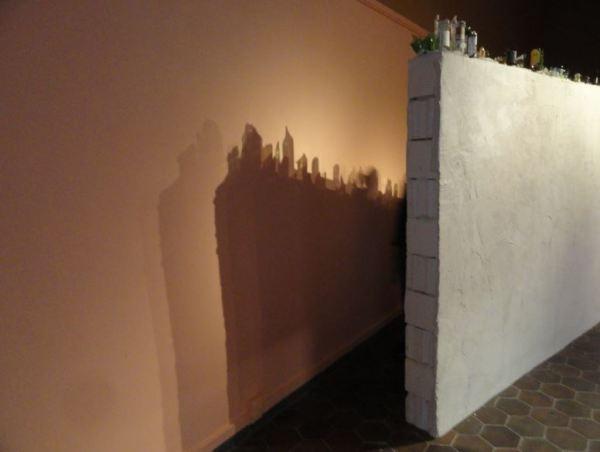 Los muros del poder en la exposición Zetterquist. Foto R.Puig