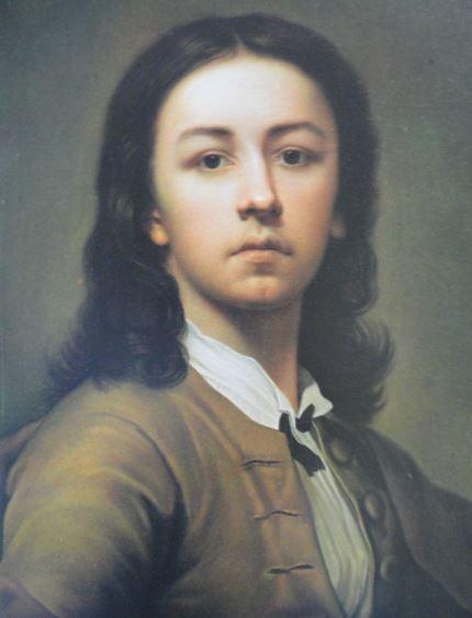 Autorretrato. Pastel. ca. 1746. nton Raphael Mengs. Hermitage.