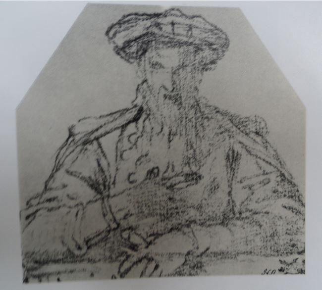 Dibujos reunidos (V) y Fisionomías (XVII): Retratos de varones en el Hermitage (4/6)