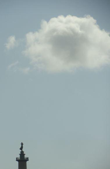 E la nube va. Foto R.Puig