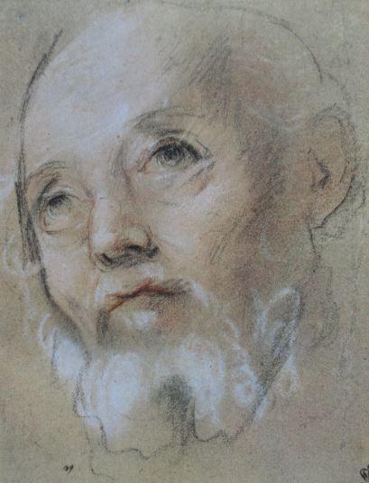 Dibujos reunidos (V) y Fisionomías (XVII): Retratos de varones en el Hermitage (3/6)