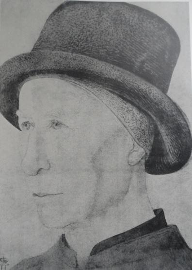 Dibujos reunidos (V) y Fisionomías (XVII): Retratos de varones en el Hermitage (5/6)
