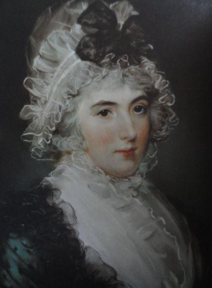 Retrato de Janet Grizel Cumming. Pastel sobre papel encolado en tela. John Russell. ss.XVIII a XIX. Hermitage.