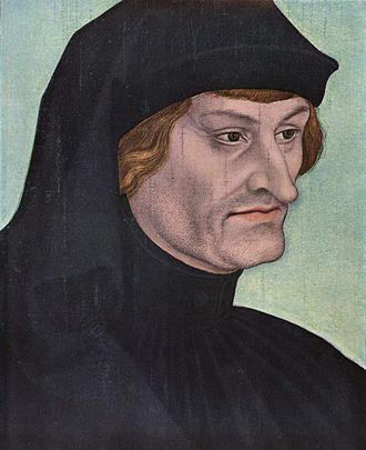 Rodolfo Agricola por Lucas Cranach. Wkipedia