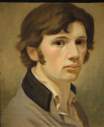 Autorretrato. Philipp Otto Runge con 25 años. 1802. Oleo sobre lienzo. Detalle. Kunsthalle. Hamburgo. Foto R.Puig
