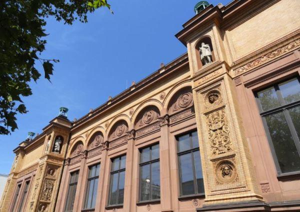 Fachada del Kunsthalle de Hamburgo. Foto R.Puig