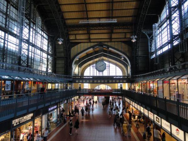 Hamburgo. Estacion central. Foto R.Puig