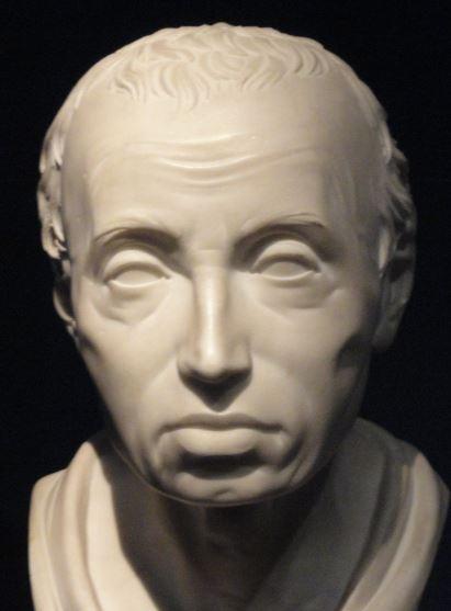 Inmanuel Kant por Friedrich Hagemann. Marmol. 1801. Kuntshalle. Hamburgo. Foto R.Puig