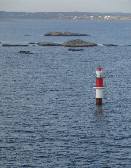 La costa oeste de Suecia en la ruta hacia Kiel. Foto R.Puig