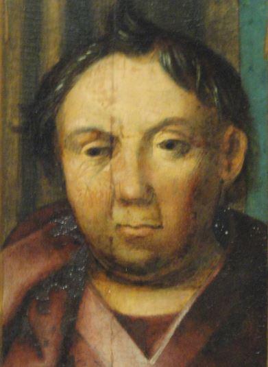Presentacion en el templo. Oleo sobre tabla. Detalle. Hans Holbein el Viejo 1500. Foto R.Puig