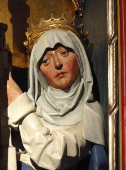 Retablo en el altar de San Pedro. Iglesia de St. Jacobi. Hamburgo. Detalle. Foto R.Puig