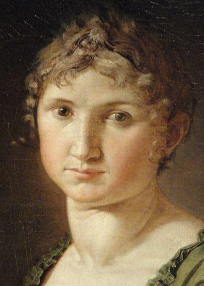 Retrato de Paulina. Philipp Otto Runge. 1805. Oleo sobre lienzo. Detalle. Kunsthalle. Hamburgo. Foto R.Puig