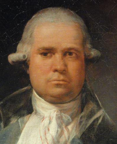 Retrato de Tomas Perez Estala. Goya. Oleo sobre lienzo.Detalle. 1795. Kunsthalle. Hamburgo. Foto R.Puig