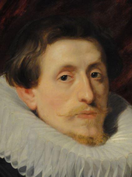 Retrato de un caballero. Anton van Dyck. Oleo sobre lienzo. 1618. Kunsthalle. Hamburgo. Foto R.Puig
