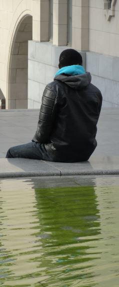 En la tierra de nadie. Bruselas. Foto. R. Puig