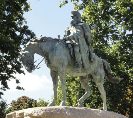 Estatua del general Martinez Campos por Mariano Benlliure. 1907. Madrid. Foto R.Puig
