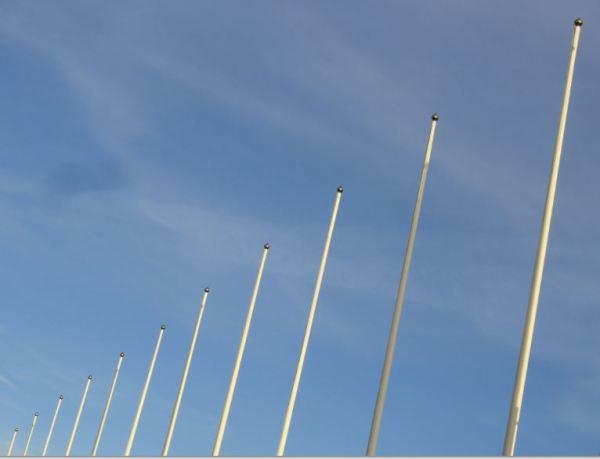 Esperando las banderas. Foto R.Puig