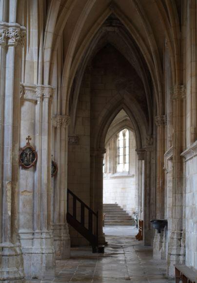 Iglesia de Falaise. Nave lateral. Foto R.Puig