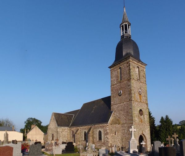 Iglesia de Saint Remy. Lassy. Wikipedia