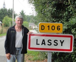 Jean Turmel. Alcalde de Lassy. Foto R.Puig