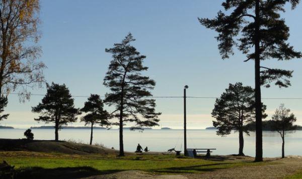 Luz de lago. Karlstad. Foto R.Puig