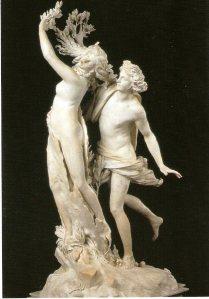 Apolo y Dafne. Bernini. Galeria Borghese