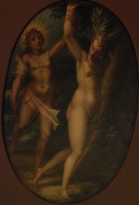 Apolo y Dafne. Capodimonte