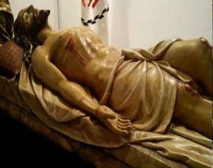 Cristo muerto. Paso de Semana Santa. Valdepeñas