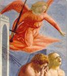 Expulsión del paraiso. Masaccio.  Capella Brancacci.Detalle