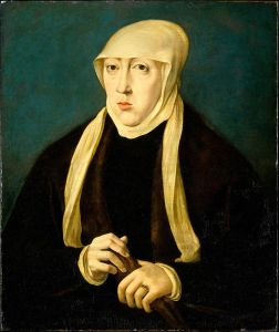 Maria de Austria. Hermana de Carlos V. Jan Cornelisz