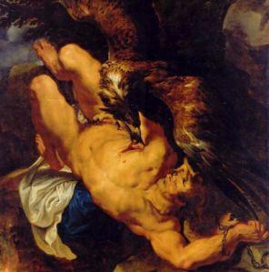 Prometeo. Rubens. Museo de Arte de Filadelfia