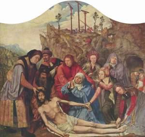 Quentin Massys. Descendimiento 1511.Museo Bellas Artes Amberes