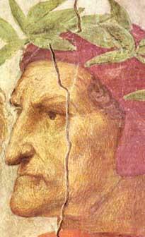 Rafael. Retrato de Dante.Vaticano