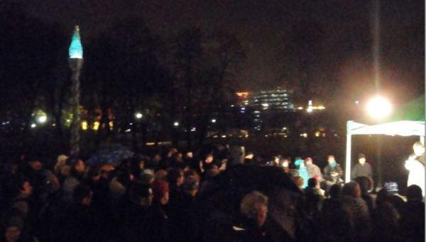 Recordando la Kristallnacht. Gotemburgo 9 de noviembre. Foto R.Puig
