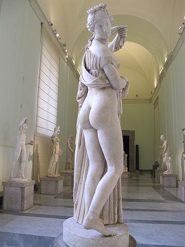 Venus Calipigia. Museo de Capodimonte. Napoles. Foto Wikipedia