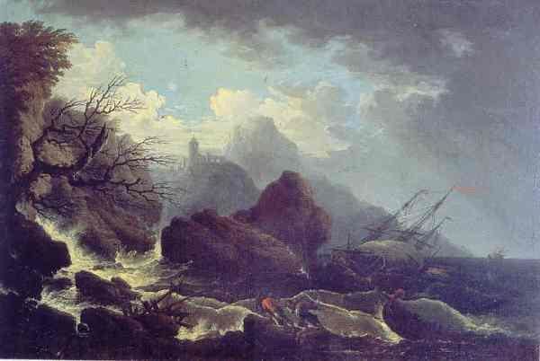 Francesco Fidanza. Mar tempestuoso. Galleria Corsini. Roma.jpg