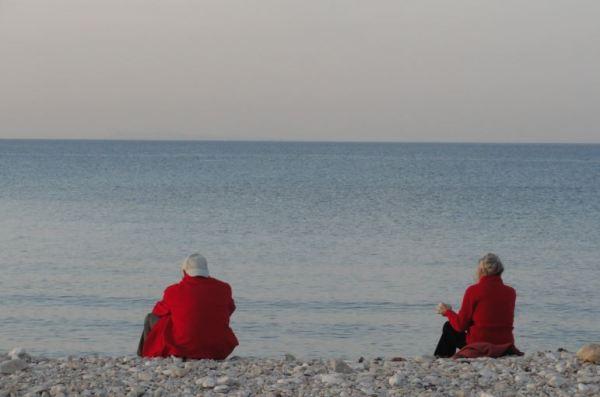 Mirando al mar soñé. Foto R.Puig