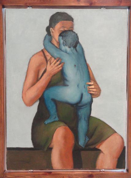 Wróblewski. Madre con hijo muerto. 1949. Foto R.Puig