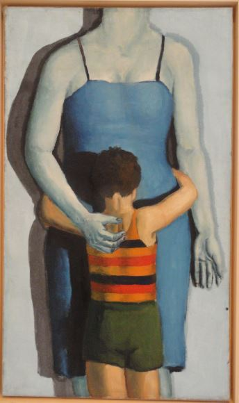 Wróblewski. Niño con madre muerta. 1949. Foto R.Puig