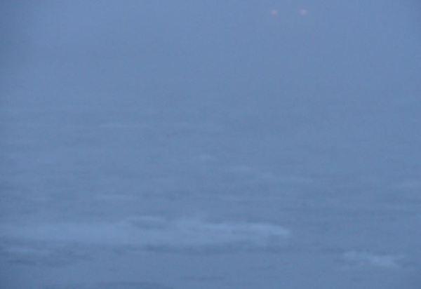 Cuando la niebla despliega su velo. Foto R.Puig.