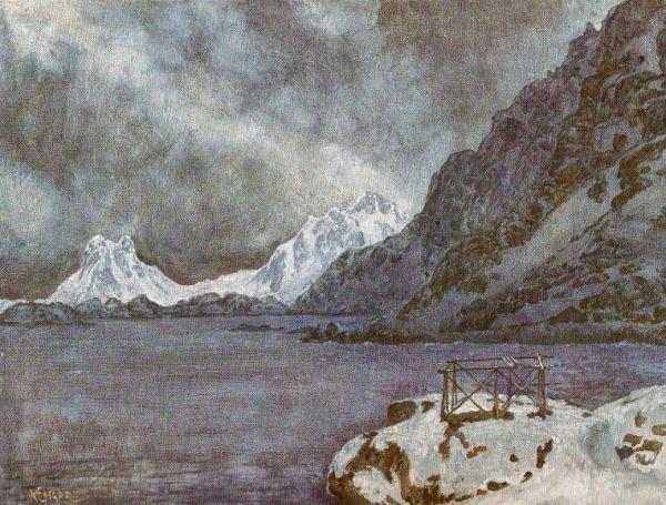 Dias de invierno en las islas Lofoten. Karl E.Harr. 1978