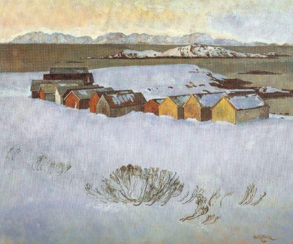 Febrero azul. Karl E.Harr. 1984