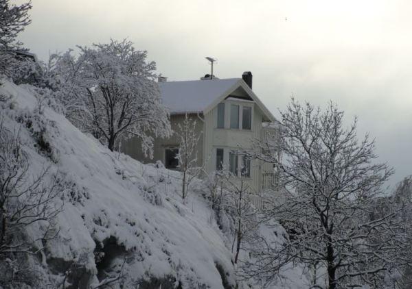 La colina nevada. Slottsbeget. Göteborg. Foto R.Puig