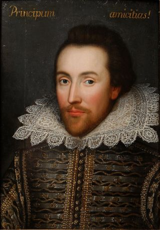 El Cobbe protrait de Shakespeare.Newbridge House. North County Dublin
