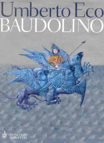 El hombre àguila. Miniatura del Romance de Alejandro. 1338. Bodleian Library. Portada de Baudolino